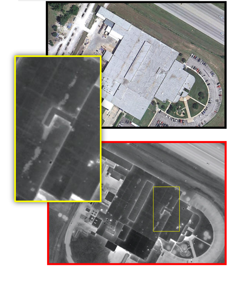 Aerial Infrared Scan 4, Identification of Problems