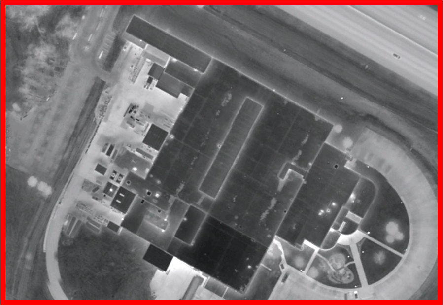 Aerial Infrared Scan 2, Zoomed In Professional Scan