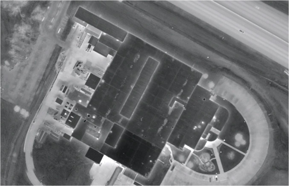 Sample Aerial Infrared Imagery #4